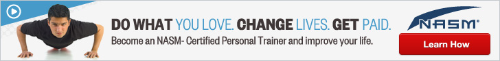 Become a NASM Certified Trainer